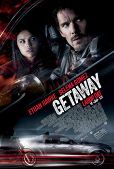 THE GETAWAY Poster double sided REGULAR (2013) ORIGINAL CINEMA POSTER