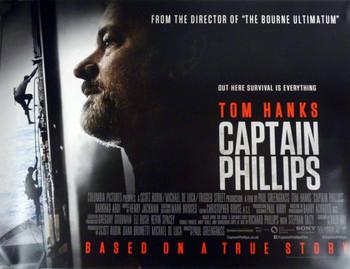 Captain Phillips Poster Double Sided Regular Quad (2013) Original Cinema Poster