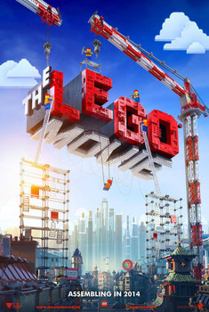 The Lego Movie Poster Double Sided Advance (2014) Original Cinema Poster
