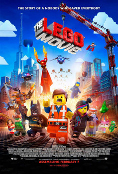 The Lego Movie Double Sided Original Movie Poster - Regular Style