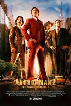 Anchorman 2 Original Movie Poster
