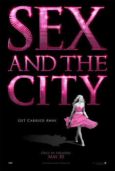 Sex and the City Double Sided Original Movie Poster - Advance Style
