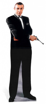 Sean Connery as James Bond Lifesize Cardboard Cutout
