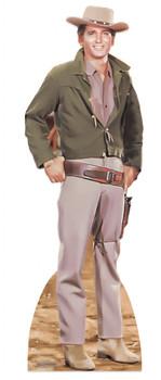 Michael Landon as Little Joe from Bonanza Lifesize Cardboard Cutout