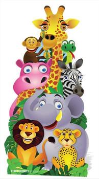 rooooooaar we offer lifesize cardboard cutouts of animals wild