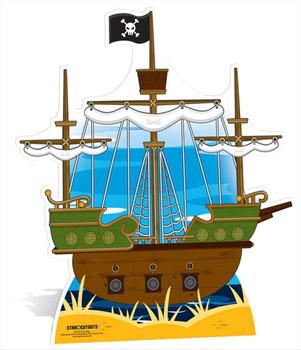Pirate Ship Large Cardboard Cutout