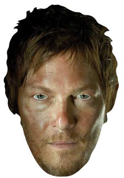 Daryl Dixon (Norman Reedus) The Walking Dead Party Face Mask