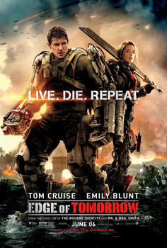 Edge of Tomorrow Original Movie Poster - Double Sided Regular