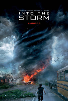 Into The Storm Original Movie Poster - Double Sided Advance