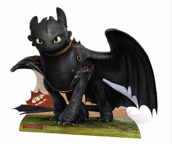 Toothless from How To train Your Dragon 2 Cardboard Cutout