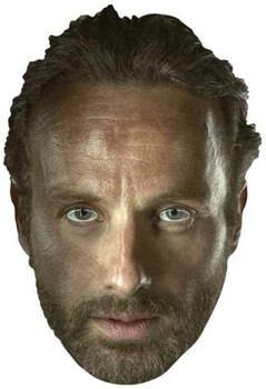 Rick Grimes (Andrew Lincoln) The Walking Dead Party Face Mask