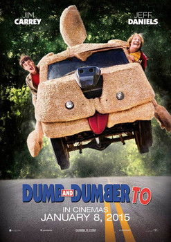 Dumb And Dumber To Original Movie Poster - Double Sided Advance