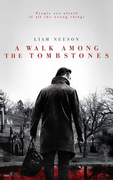 A Walk Among The Tombstones Original Movie Poster - Double Sided Advance