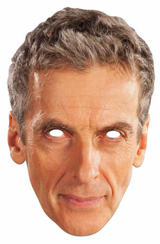 Peter Capaldi The 12th Doctor Who Card Party Face Mask