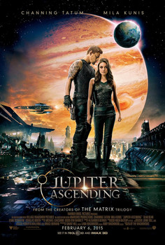 Jupiter Ascending Original Movie Poster - Double Sided Regular