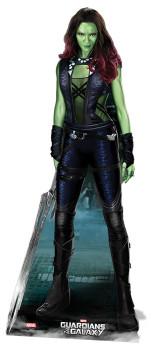 Gamora Guardians Of The Galaxy Lifesize Cardboard Cutout