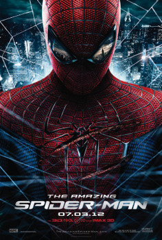Amazing Spider-Man Original Movie Poster - Double Sided Advance Style B