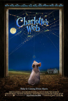 Charlotte'S Web Original Movie Poster - Double Sided Advance
