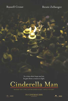 Cinderella Man Original Movie Poster - Double Sided Advance
