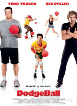 Dodgeball: A True Underdog Story Original Movie Poster - Double Sided International Style C Rare