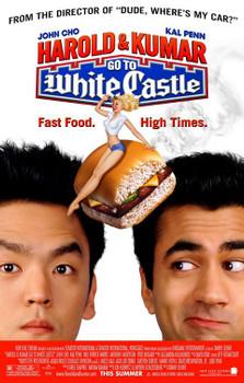 Harold & Kumar Go To White Castle Original Movie Poster - Single Sided Regular