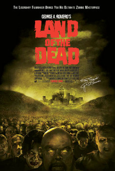 Land Of The Dead Original Movie Poster - Single Sided Regular