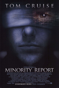 Minority Report Original Movie Poster - Double Sided