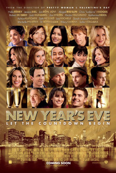 New Year'S Eve Original Movie Poster - Double Sided Regular