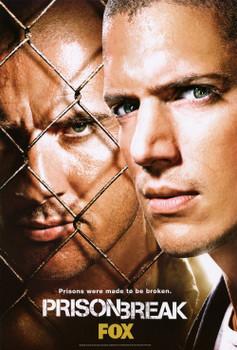 Prison Break - Single-Sided Original TV Poster