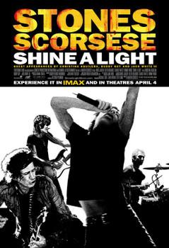 Shine A Light Original Movie Poster - Double Sided Regular