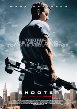 Shooter Original Movie Poster - Double Sided Advance