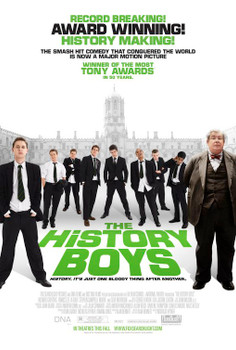 The History Boys Original Movie Poster - Double Sided Regular