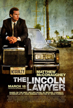 The Lincoln Lawyer Original Movie Poster - Double Sided Regular