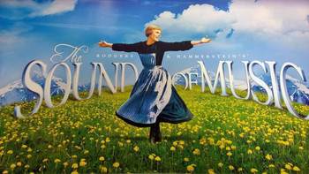 The Sound Of Music Original Movie Poster - Single Sided Re-Release Rare