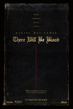 There Will Be Blood Original Movie Poster - Double Sided Advance