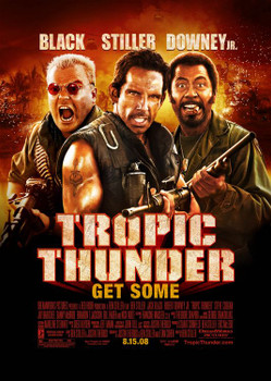Tropic Thunder Original Movie Poster - Double Sided Regular