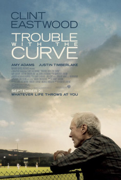 Trouble With The Curve Original Movie Poster - Double Sided Regular