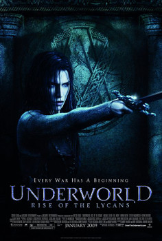 Underworld: Rise Of The Lycans Original Movie Poster - Double Sided Regular Style B