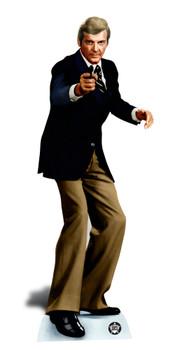 Roger Moore Bond Lifesize Cardboard Cutout / Standee / Standup