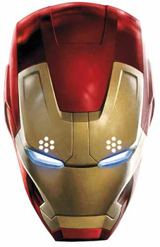 Iron Man Avengers Age of Ultron Single Card Party Face Mask