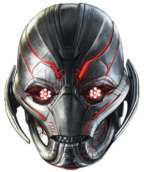Ultron Avengers Age of Ultron Single Card Party Face Mask