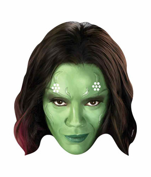 Gamora Guardians of the Galaxy Single Card Face Mask