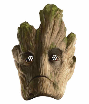 Groot Guardians of the Galaxy Single Card Party Face Mask
