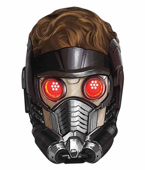 Peter Quill Star-Lord Guardians of the Galaxy Single Card Party Face Mask