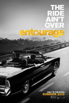 Entourage (2015) Original Movie Poster Double Sided Advance Style