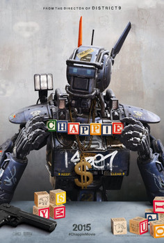 Chappie Original Movie Poster Double Sided Advance Style