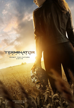 Terminator Genisys Original Movie Poster Double Sided Advance Style
