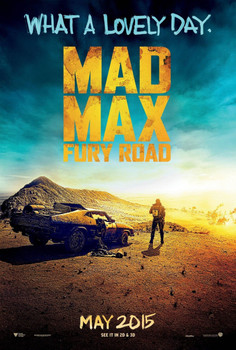 Mad Max Fury Road Original Movie Poster Double Sided Advance Style
