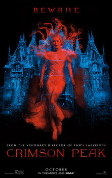 Crimson Peak Original Movie Poster Double Sided Advance Style