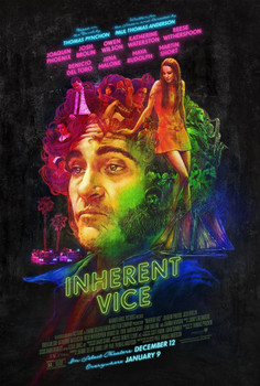 Inherent Vice Original Movie Poster Double Sided Rare Regular Style